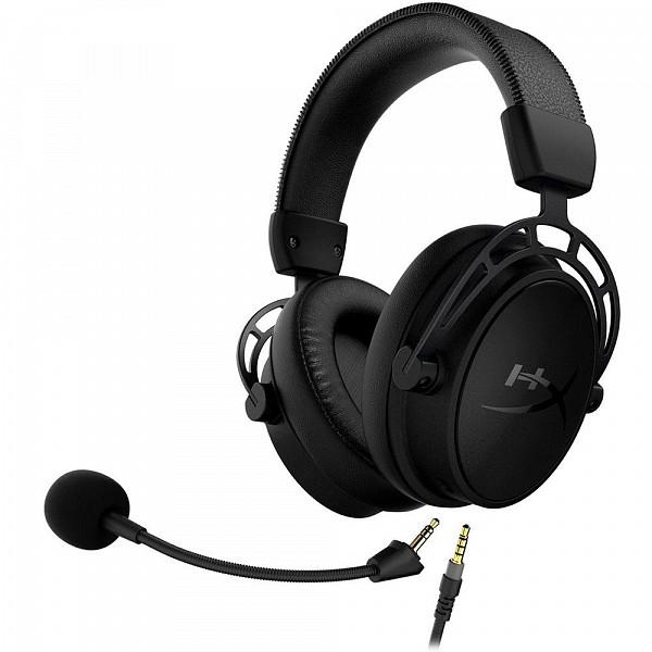 Headset Gamer HyperX Cloud Alpha S Blackout 7.1 - HX-HSCAS-BK/WW