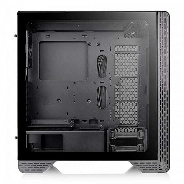 Gabinete Thermaltake S300 TG - Lateral em Vidro - USB 3.0 - Mid Tower - Micro ATX - Preto - CA-1P5-00M1WN-00