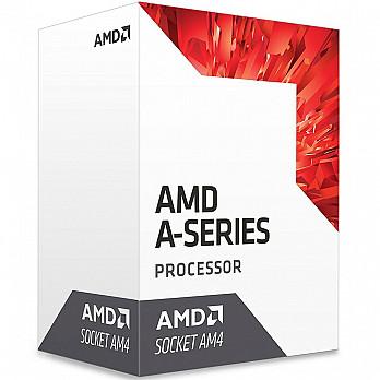 AMD A10 9700 Bristol Ridge, Quad-Core, Cache 2MB, 3.5GHz - AD9700AGABBOX