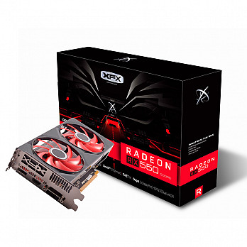 Placa De Vídeo XFX AMD Radeon Core Dp Rx550 4gb Rx-550p4pfg5