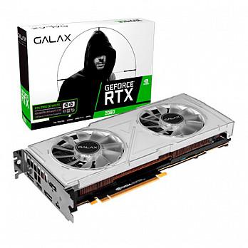 Placa de Vídeo Galax GeForce RTX 2080 OC white 8Gb DDR6 14.000MHZ Hdmi Dp Usb