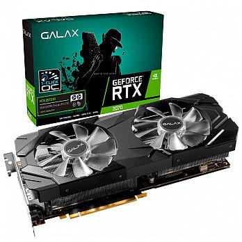Placa de Vídeo Galax Geforce RTX 2070 8GB EX  (1-Click OC) GDDR6 256B