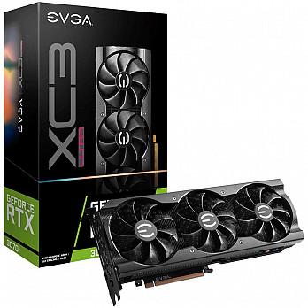 Placa de Vídeo EVGA NVIDIA GeForce RTX 3070 XC3 ULTRA GAMING, 8GB, GDDR6, iCX3 Cooling, ARGB LED - 08G-P5-3755-KR