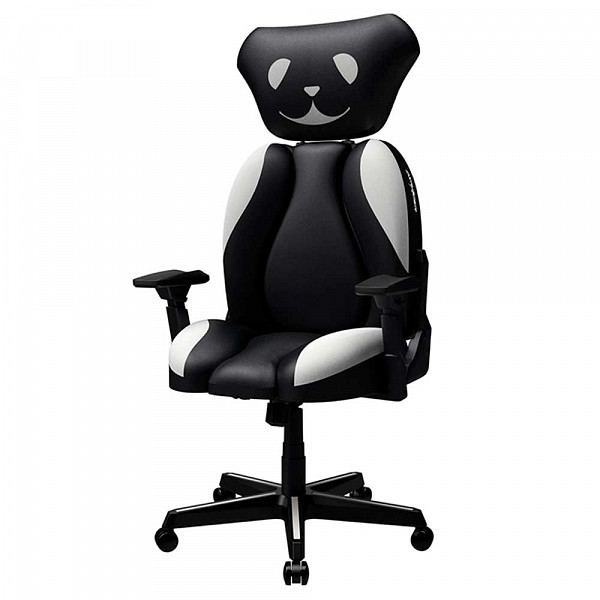 Cadeira Gamer DXRacer DOG BLACK Preta JK004-NW - Open-Box
