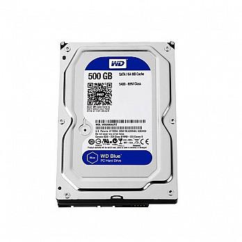 HD WD SATA 3,5´ Blue PC 500GB 7200RPM 32MB Cache SATA 6.0Gb-s - WD5000AZLX