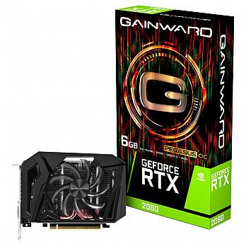 Placa de Vídeo Gainward GEFORCE RTX 2060 6GB Pegasus OC GDDR6 192Bits - NE62060S18J9-161F
