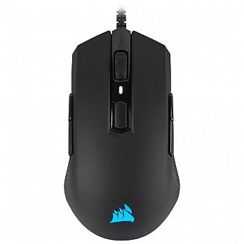 Mouse Gamer Corsair M55 PRO Ambidestro, RGB, 8 Botões, 12400DPI, Preto - CH-9308011-NA ( Open-Box )