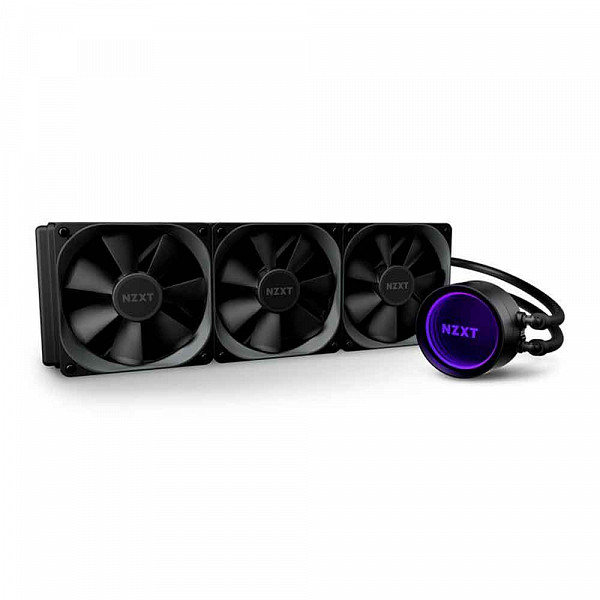 Water Cooler NZXT Kraken X73, RGB 360mm, INTEL/AMD, RL-KRX73-01