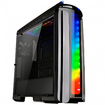 Gabinete Thermaltake Versa C22 RGB BLACK-SPCC-FULL Window - CA-1G9-00M1WN-00