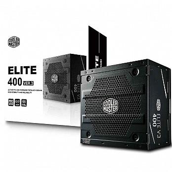 Fonte Cooler Master 400W Elite V3 - MPW-4001-ACAAN1-W0