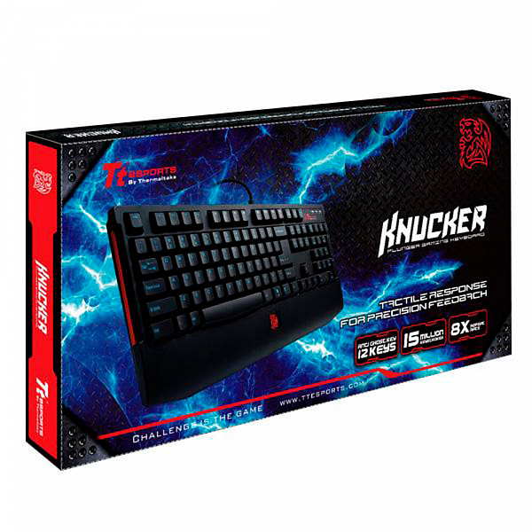 Teclado Gamer Thermaltake TT Sports Knucker USB - KB-KNK008PB