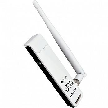 Adaptador Wireless TP-Link USB 150Mbps TL-WN722N