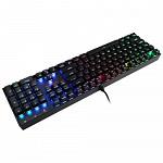 Teclado Gamer Redragon Mecânico Mitra com Anti-Ghost K551 RGB ABNT2 Switch Outemu Brown