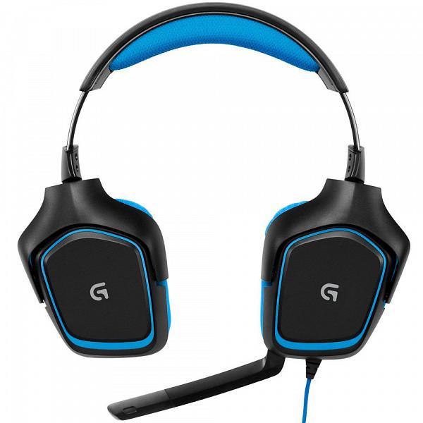 Headset Gamer Logitech G430 7.1 Surround