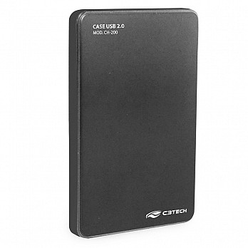 Case C3 Tech p/ HD 2.5´ Cinza - CH-200GY