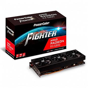 Placa de Vídeo Power Color AMD RX6800 AXRX 6800, 16 Gbps, 16GB, GDDR6 - 16BD6-3DH/OC