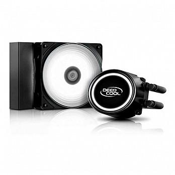 WaterCooler DeepCool Gammaxx L120T Anti-leak LED Branco