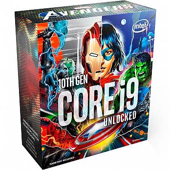 Processador Intel Core i9-10900K Marvel´s Avengers Collector´s Edition Packaging, Cache 20MB, 5.3GHz, LGA1200 - BX8070110900KA