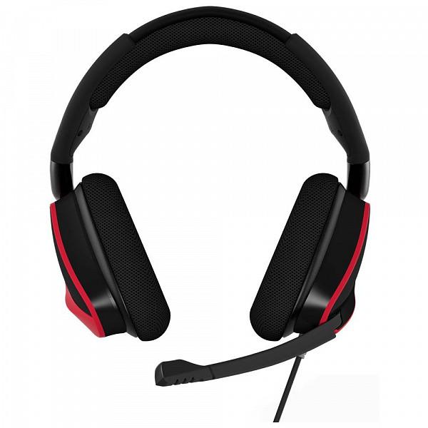 Headset Gamer Corsair USB Dolby 7.1 Preto e Vermelho Void Pro