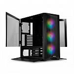 Gabinete Gamer Lian Li, Lancool II Mesh RGB, Mid Tower, Vidro Temperado, Black, Sem Fonte