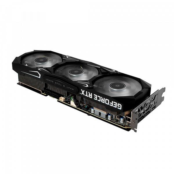Placa de Vídeo Galax Geforce RTX 3070 TI SG, 19 Gbps, 8GB GDDR6X, RGB, Ray Tracing, DLSS - 527200-0560 LHR