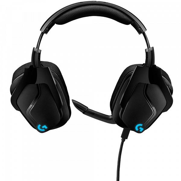 Headset Gamer Logitech G635, RGB, Som Surround 7.1, Drivers Pro-G de 50mm