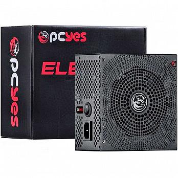Fonte 500W Real PcYes 80 Plus White Electro V2