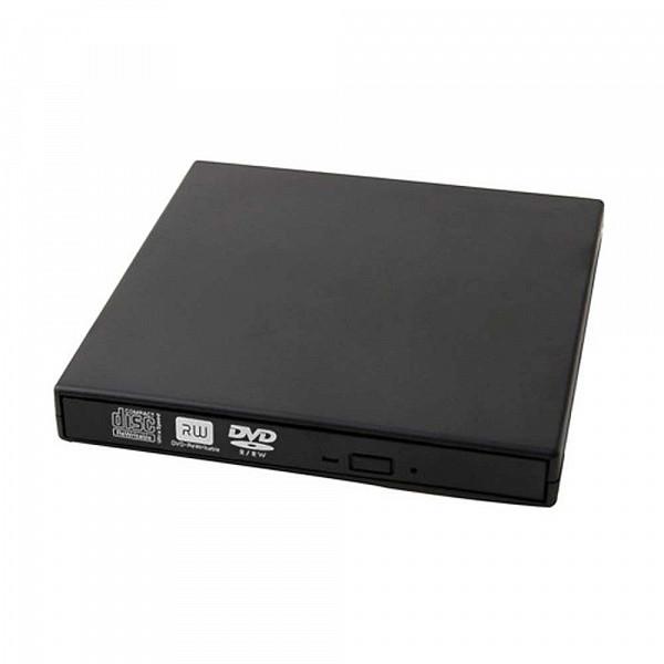 Gravador de CD/DVD externo slim Bluecase bgde-02