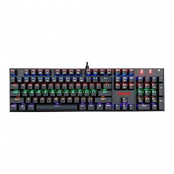 Teclado Mecânico Gamer Redragon Rudra K565R-1, Switch Outemu Blue, Black, ABNT 2