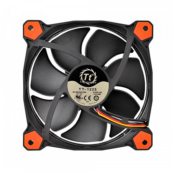 Cooler Fan Thermaltake Riing 12 Red 1500rpm