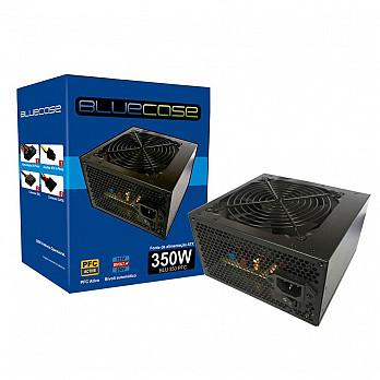 Fonte BlueCase ATX 350W PFC c Cabo - BLU350PFC