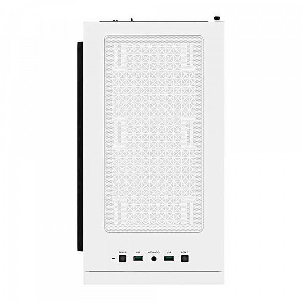 Gabinete Deepcool Macube 110 Vidro Temp Branco, R-MACUBE110-WHNGM0N-B-1