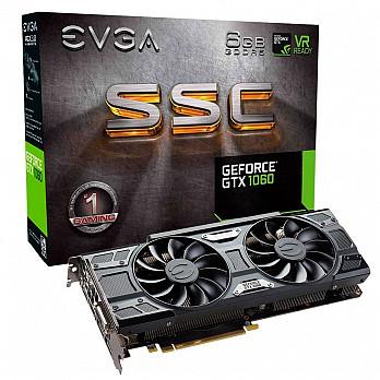 GTX1060 6GB SSC ACX3.0 DDR5 EVGA 06G-P4-6267-KR