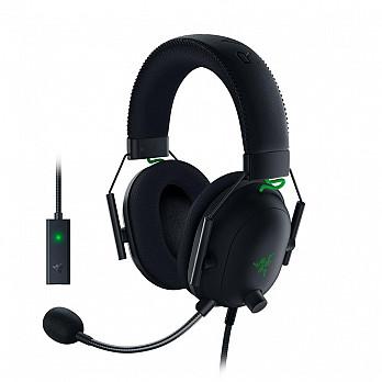 Headset Gamer Razer BlackShark V2, Som Surround 7.1, Drivers 50mm, com Placa de Som USB - RZ04-03230100-R3U1