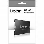 SSD Lexar NS100, 256GB, SATA, Leitura 520MB/s - LNS100-256RBNA