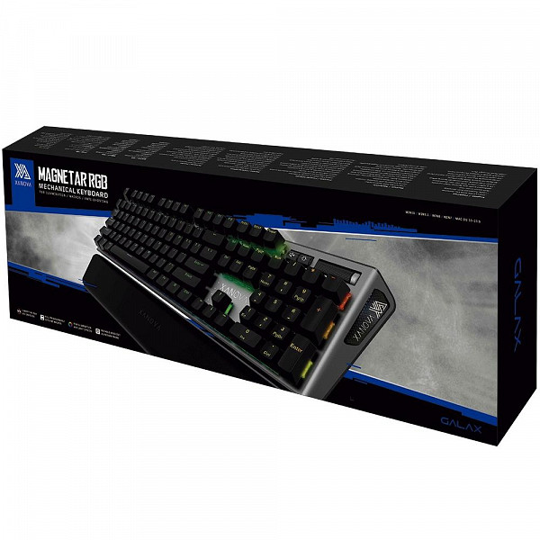 Teclado Mecânico Gamer Xanova Magnetar, RGB, Switch Cherry MX Brown, ABNT 2 - XK700