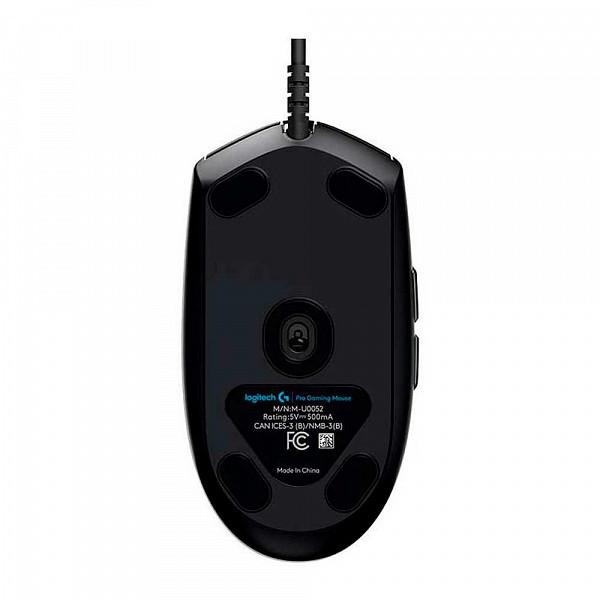 Mouse Gamer Logitech G PRO Hero RGB 16000Dpi USB  910-005536
