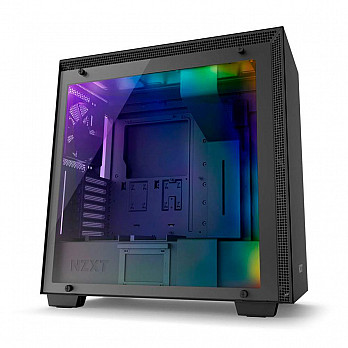 Gabinete H700I Matte Black Rgb Tg Ca-H700W-BB Nzxt