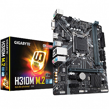 Placa-Mãe Gigabyte p  Intel LGA 1151 mATX H310M M.2 ddr4