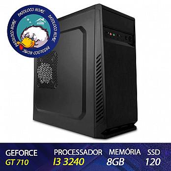 Computador Patoloco (Home) Intel Core i3 3240, GT 710 1GB, 8GB DDR3, SSD 120