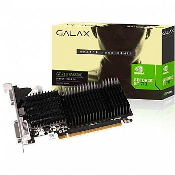 Placa de Vídeo  Galax Geforce Gt 710 2GB DDR3 64Bits 71GPF4HI00GX