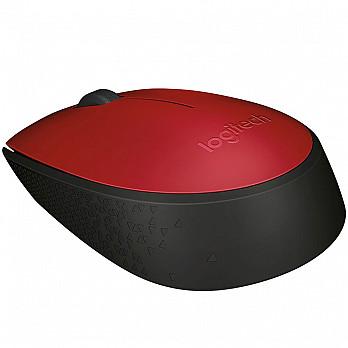 Mouse Logitech M170 Sem Fio Vermelho 910-004941