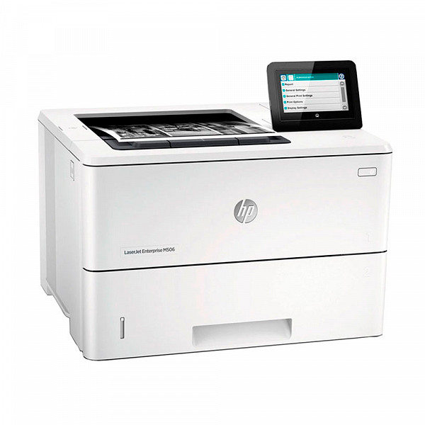 Impressora HP Multifuncional Laserjet-Mono HP PRO M506DN REDEDUPLEX 45PPM