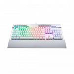 Teclado Mecânico ReDragon Yama RGB Switches Otemu Purple Branco, K550W