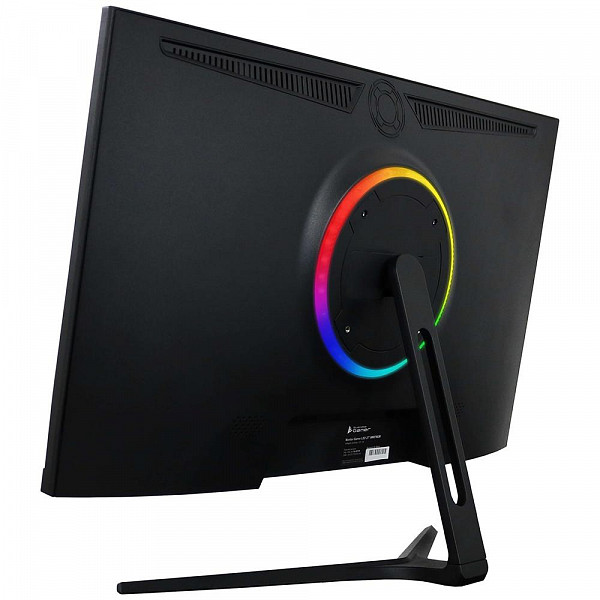 Monitor Gamer Bluecase LED 27´, 2.5K Quad HD, HDMI/DisplayPort, Fita RGB