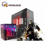 PC GAMER LUNATIC - INTEL CORE I7 8700 (1151) 3.20 GHz, PLACA DE VIDEO RTX 2070 8GB, PLACA MÃE B360M DDR4, SSD 240GB, FONTE 600W, MEM. 8GB DDR4, GAB. GAMEMAX M909 RGB.