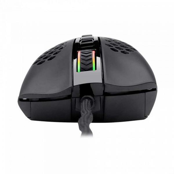 Mouse Gamer Redragon Storm Elite, 16000 DPI, 8 Botões Programáveis, Black, M988-RGB