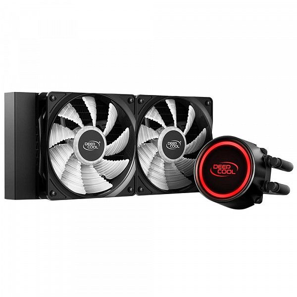 Water Cooler Deepcool Gammmaxx L240T Red, 240mm, Led Vermelho - DP-H12RF-GL240TR