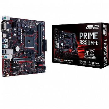 PLACA MÃE ASUS PRIME B350M-E AM4 90-MB0TW0-M0EAY0 - AMD