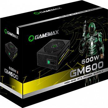 Fonte Gamemax 600W 80 Plus Bronze GM600